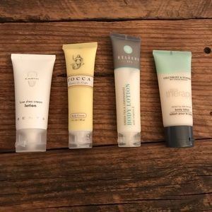 Other - 4x travel size lotions NWOT